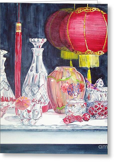 Chinese Lanterns No. 2 Greeting Card