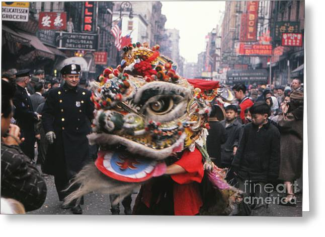 Chinese New Year 1963 Greeting Card by The Harrington Collection