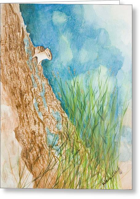 Chipmonk Greeting Card