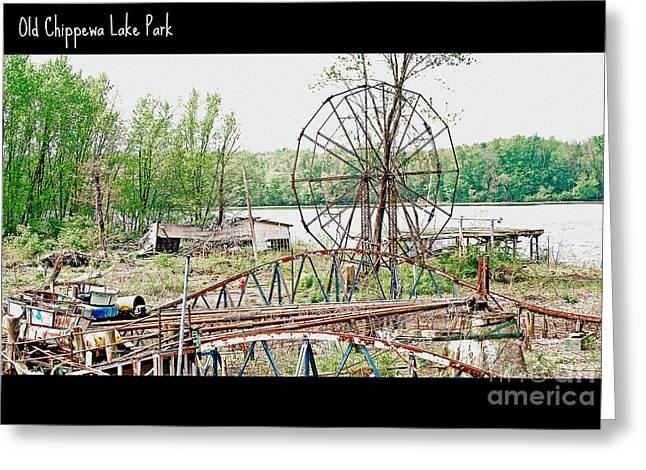 Chippewa Lake Park Now 2 Greeting Card