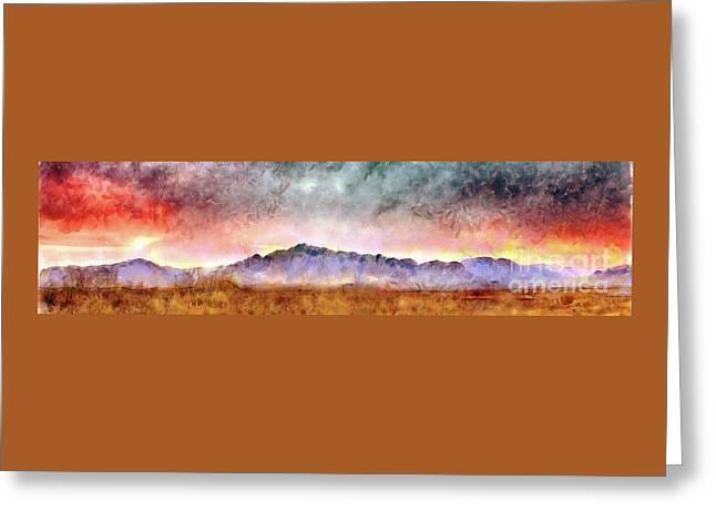 Chiricahua Greeting Card by Harry Ridgway