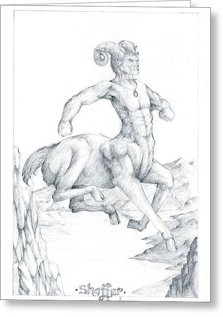 Chiron The Centaur Greeting Card
