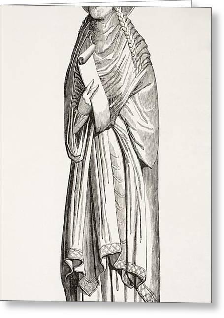 Chlothar I, Or Clotaire, Born C. 497 Greeting Card