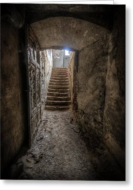 Chocolate Cellar Greeting Card by Nathan Wright