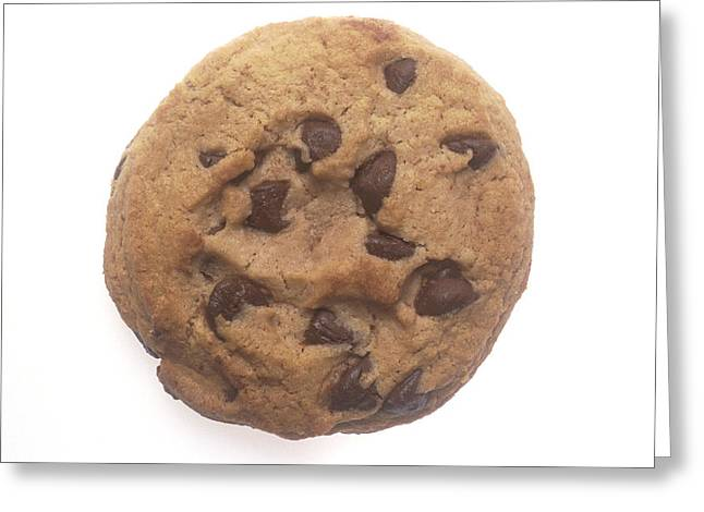 Chocolate Chip Cookie Greeting Card by PhotographyAssociates