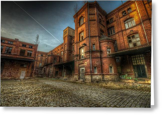 Chocolate Factory Greeting Card by Nathan Wright