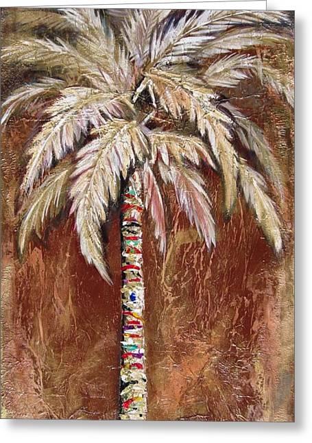 Chocolate Palm Greeting Card