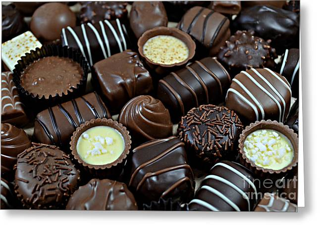 Chocolates Greeting Card