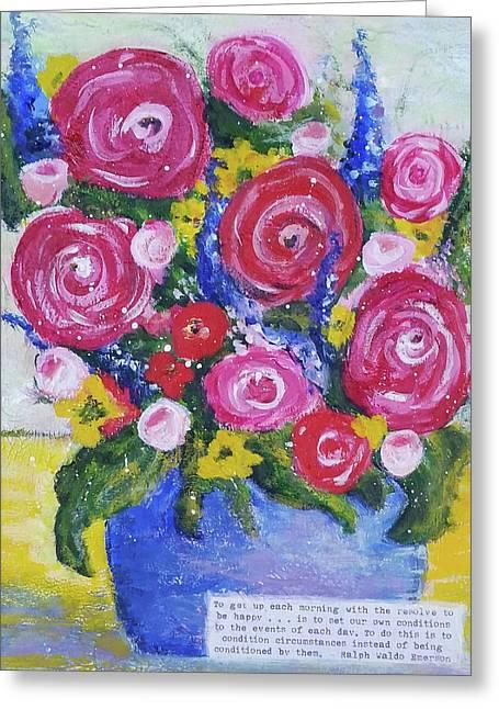 Choice Bouquet Greeting Card