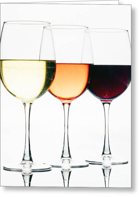 Choice Of Wines Greeting Card