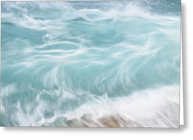 Choppy Waters Greeting Card by Vince Cavataio - Printscapes