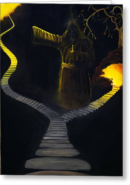 Chosen Path Greeting Card by Brian Wallace
