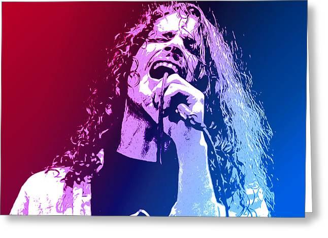 Chris Cornell 326 Greeting Card