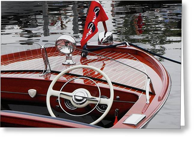 Chris Craft Sportsman Greeting Card