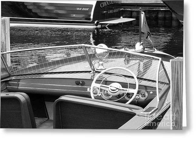 Chris Craft Utility Greeting Card