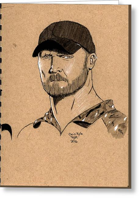 Chris Kyle Greeting Card