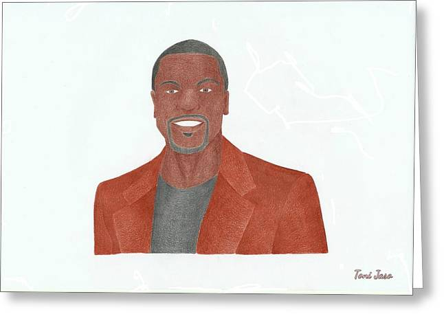 Chris Tucker Greeting Card