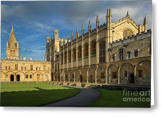 Greeting Card featuring the photograph Christ Church College II by Brian Jannsen