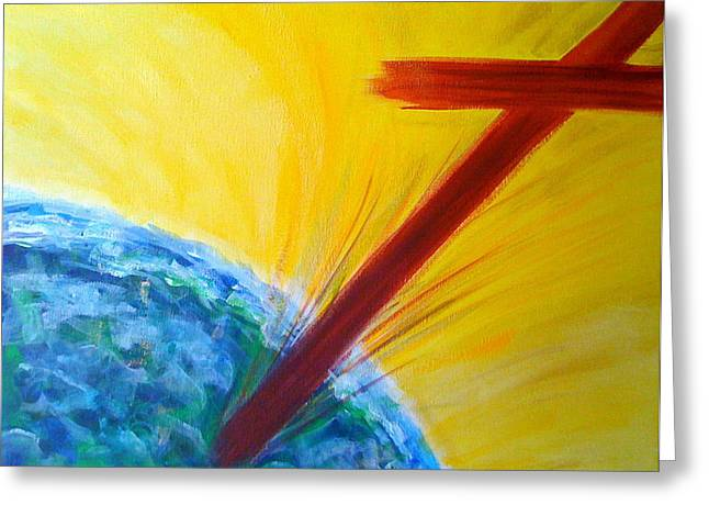 Christ For The Nations Greeting Card