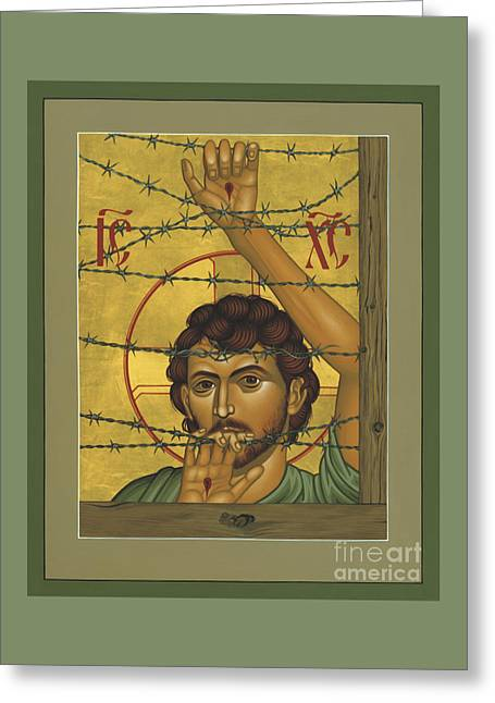 Christ Of Maryknoll - Rlcom Greeting Card