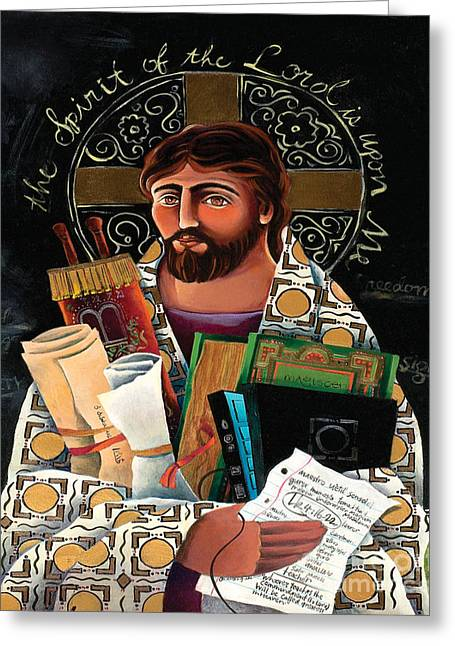 Christ The Teacher - Mmctt Greeting Card