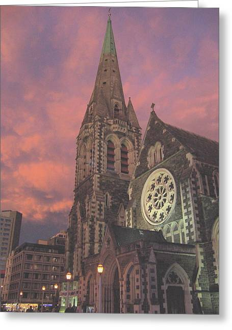 Christchurch II  Greeting Card