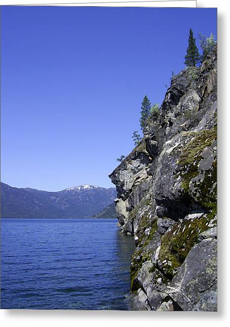 Christina Lake Texas Point Grand Forks Bc Greeting Card by Barbara St Jean
