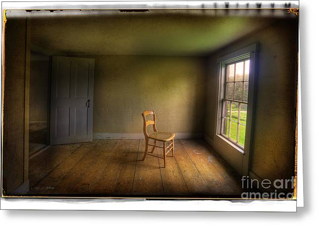 Christina's Room Greeting Card by Craig J Satterlee