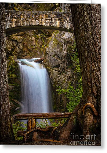 Christine Falls Greeting Card