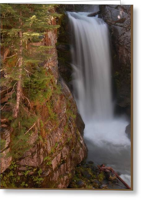 Christine Falls Washington Greeting Card by Dan Sproul