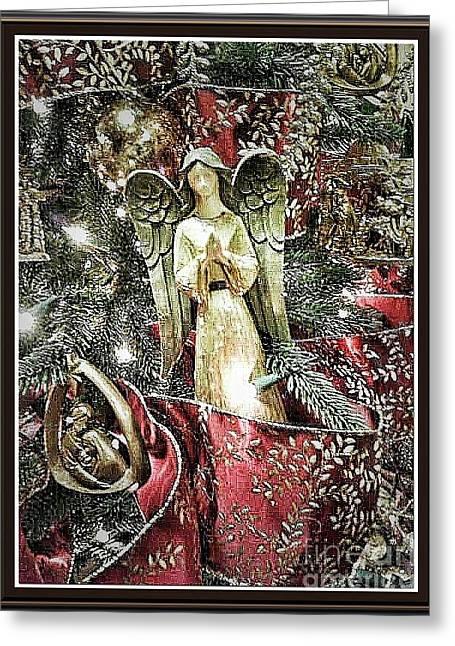 Christmas Angel Greeting Greeting Card