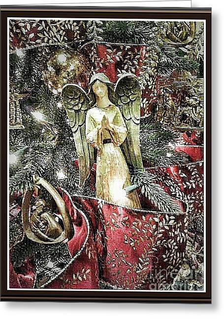 Christmas Angel Greeting Greeting Card