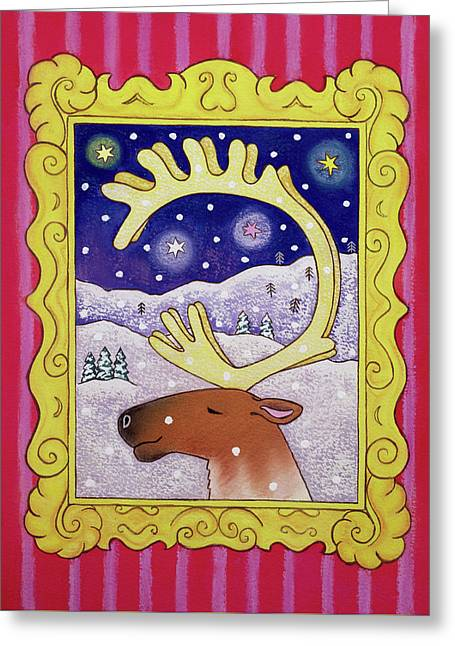 Christmas Antlers Greeting Card