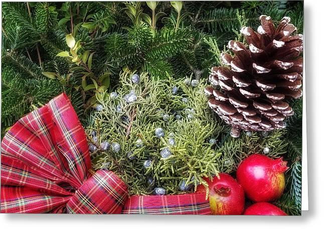 Christmas Arrangement Greeting Card