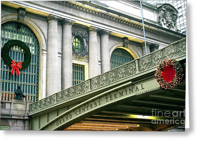 Christmas At Grand Central Terminal Greeting Card