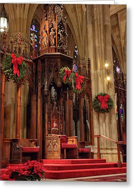 Christmas At  St. Patrick's Greeting Card
