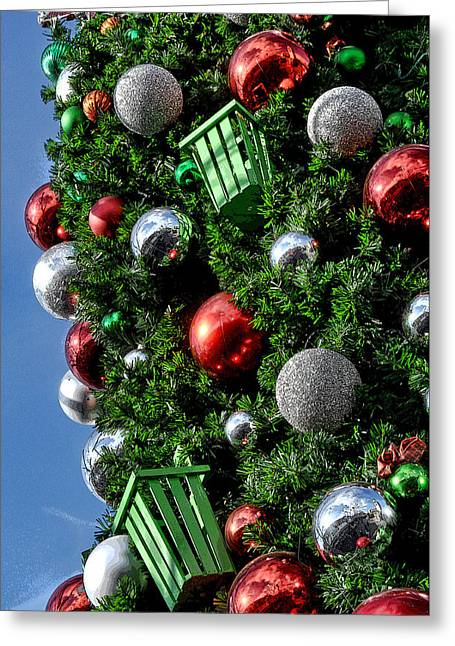 Christmas Balls Greeting Card