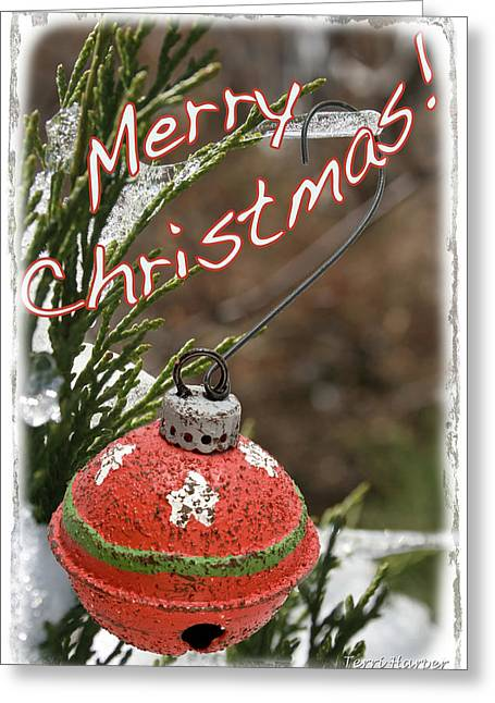 Christmas Bell Ornament Greeting Card