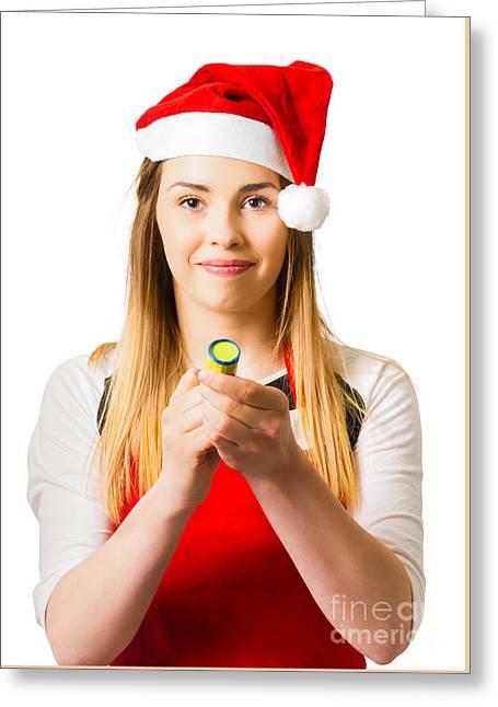 Christmas Big Bang Countdown  Greeting Card