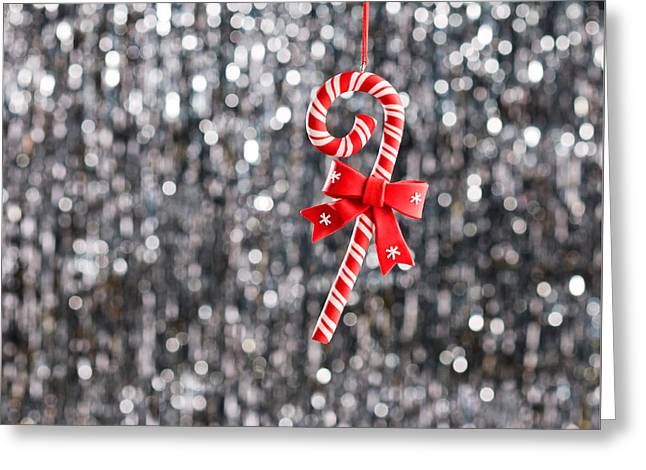 Greeting Card featuring the photograph Christmas Candy  by Ulrich Schade