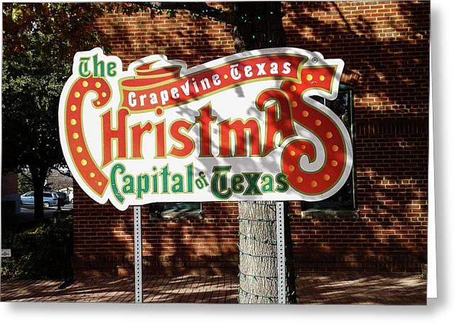 Christmas Capital Of Texas Greeting Card
