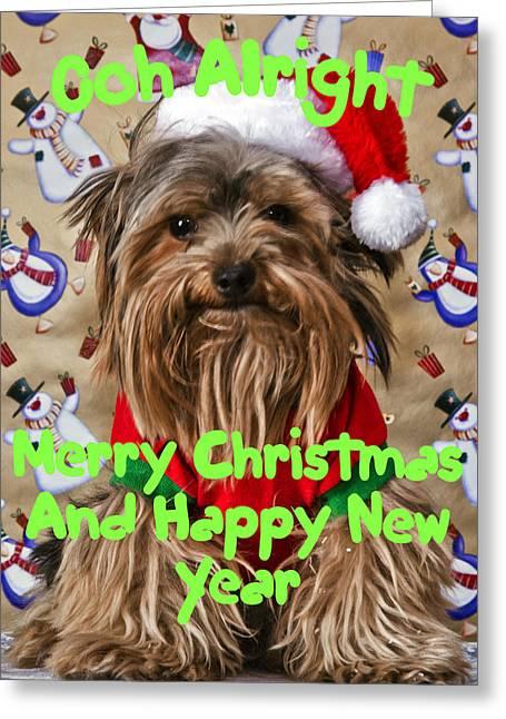 Christmas Card 1 Greeting Card by Dennis Hofelich