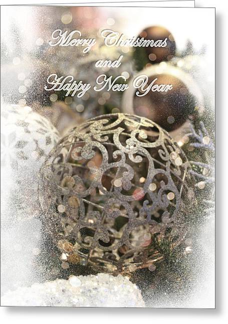 Christmas Card Greeting Card by Helga Novelli