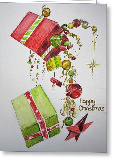 Christmas Card Greeting Card