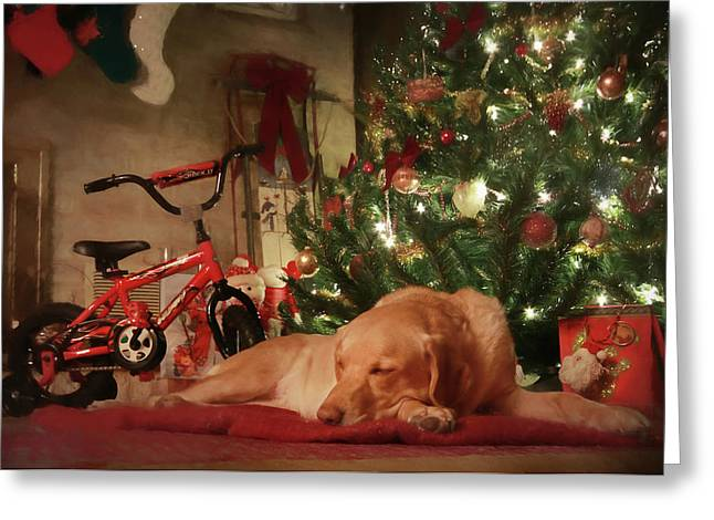 Greeting Card featuring the photograph Christmas Eve by Lori Deiter