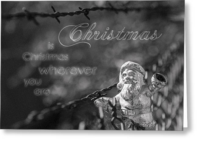 Greeting Card featuring the photograph Christmas Everywhere by Caitlyn Grasso