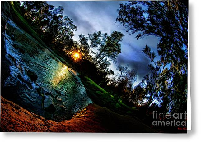 Christmas Hill Park Gillory Greeting Card by Blake Richards