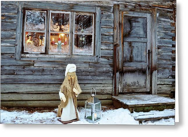 christmas in Scandinavia Greeting Card