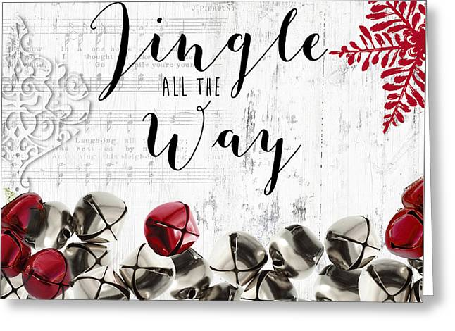 Christmas Jingle Bells  Greeting Card