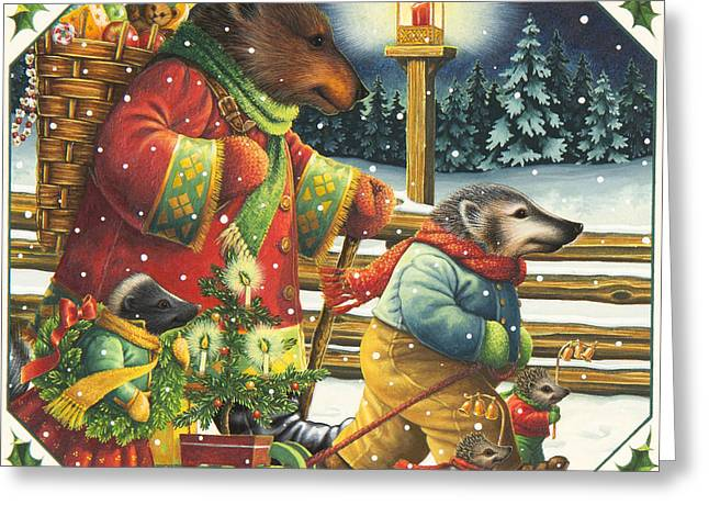 Christmas Journey Greeting Card